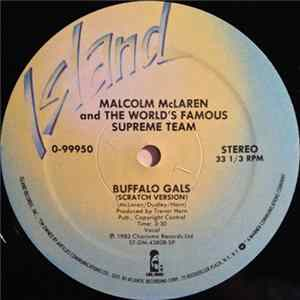 Malcolm McLaren And The World's Famous Supreme Team - Buffalo Gals FLAC